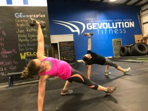 10 Class Passes available at GEvolution Fitness.