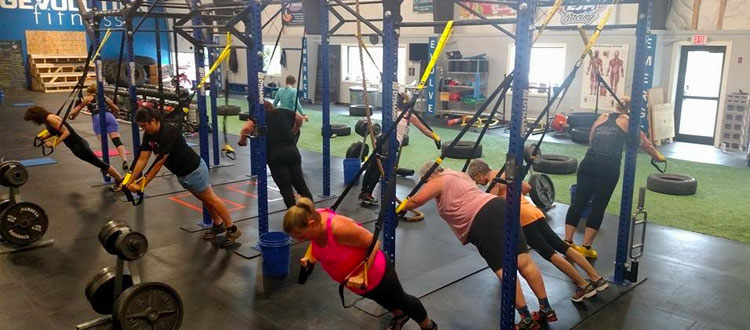 GEvolution Fitness offers TRX Total Body Burn workouts in Augusta, Maine.